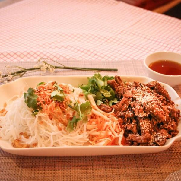 Vegan Bun Thit Nuong